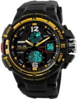 Skmei GMARKS-8411-GOLD  Analog-Digital Watch For Unisex
