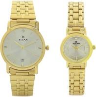Titan 617917YM04  Analog Watch For Couple