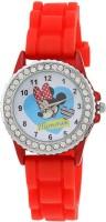 Disney LP-1006 (RED)  Analog Watch For Kids