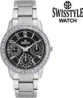Swisstyle SS-LR0200-BLK  Analog Watch For Girls
