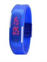 MWS MWS Rubber Magnet MWS0002 LED Watch  - For Men