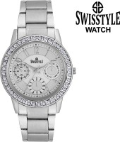 Swisstyle SS-LR020-WHT  Analog Watch For Girls