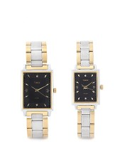 Timex PR160 Formals Analog Watch For Couple