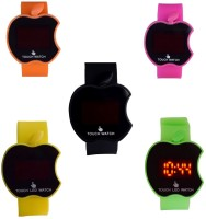 Vitrend Touch led screen Combo set of 5 Digital Watch  - For Couple