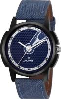 Dezine DZ-GR063-BLU-BLU  Analog Watch For Unisex