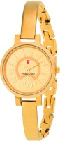 Swiss Trend ST2183 Goldish Analog Watch For Girls