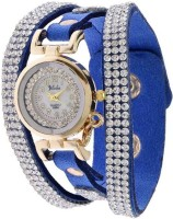 Felizo Designer Diamond Vintage Bracelet Latkan Watch with Hanging Butterfly Analog Watch  - For Girls