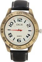 Dice DCML38LTBLKWIT066 Bikers Choice Analog Watch  - For Men