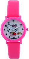 Hi Hello Kitty Cartoon Character Analog Watch  - For Girls