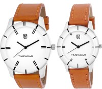 H Timewear 915WDTCOUPLE Formal Analog Watch For Couple