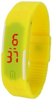 Lime Avyellow-Rubber Watch  - For Men