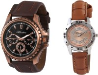 Timebre CPLCOM100 Trendy Analog Watch For Couple