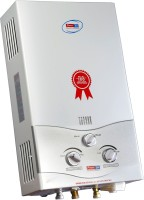 View POWERJET 6 L Gas Water Geyser(WHITE AND SILVER, DP6) Home Appliances Price Online(POWERJET)