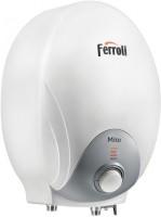 View Ferroli 3 L Storage Water Geyser(White, Mito Italy) Home Appliances Price Online(Ferroli)