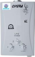 View Alexus 6 L Instant Water Geyser(White, Gas Geyser) Home Appliances Price Online(Alexus)