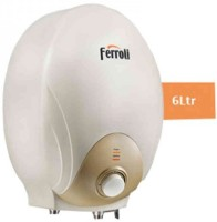 View Ferroli 6 L Instant Water Geyser(Ivory, Mito) Home Appliances Price Online(Ferroli)