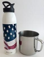 Liberty 710 ml Water Purifier Bottle(White)