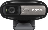 View Logitech C170 Webcam(Black) Laptop Accessories Price Online(Logitech)