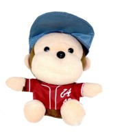 Shrih HD 10M Camera Plush Monkey In Red Tshirt USB  Webcam(Multicolour)