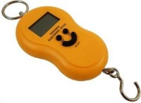 Connectwide Smiley Portable Electronic Scale Weighing Scale(Yellow)