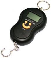 SWARISH Portable Handheld 40 Kg Electronic Led Travel Luggage Weighing Scale(Black)