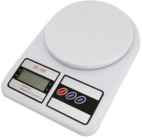 Saleh Electronic Digital LED Kitchen Food Weight Scale Weighing Scale(White)