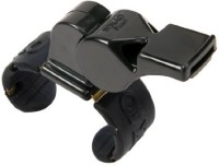 Fox 40 Pearl Official Finger Grip Pealess Whistle(Black, Pack of 1)