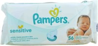 Pampers SENSITIVE ( MADE IN SPAIN) FRAGRANCE FREE(56 Pieces)