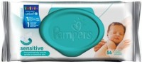 Pampers Baby Wipes Sensitive(56 Pieces)