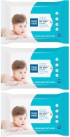 MeeMee Caring Baby Wet Wipes with Aloe Vera (72 pcs) (Pack of 3)(3 Pieces)