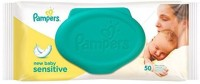 Pampers Baby Cotton Wipes(50 Pieces)