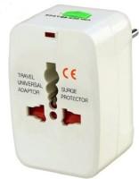 View PH Artistic Universal Pocket Travel Charger Multi-Plug, AU/EU/UK/US/CN Worldwide Adaptor(White) Laptop Accessories Price Online(PH Artistic)