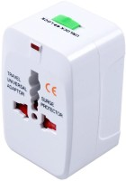 View Kensonic all in one Worldwide Adaptor(White) Laptop Accessories Price Online(Kensonic)