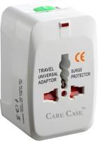 View Care Case Universal Travel (AU EU UK US) International Good Quality Worldwide Adaptor(White) Laptop Accessories Price Online(Care Case)
