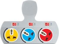 Shrih Universal Rotatable 3 Socket Worldwide Adaptor(Multicolor)