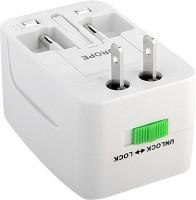View Roboster Universal Worldwide Adaptor(White) Laptop Accessories Price Online(Roboster)