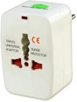 View TechGear Universal Worldwide Adaptor(White) Laptop Accessories Price Online(TechGear)