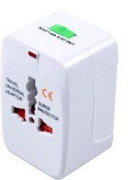 View Technoax All in one Universal Worldwide Adaptor(White) Laptop Accessories Price Online(Technoax)