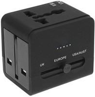 Enhance Limited Edition Universal AX01 Travel Adaptor Worldwide Adaptor(Black)
