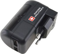 Swiss Military UAM 2 MULTIUTILITY CHARGER Worldwide Adaptor(Black)