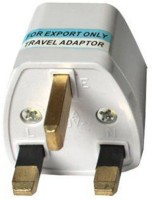 View BEcom 5555 Worldwide Adaptor(White) Laptop Accessories Price Online(BEcom)