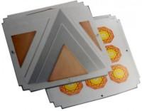 Jiten International Max - (I-Max) Pyramid Polypropylene Yantra(Pack of 1)