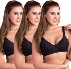 245276ea0 Rajnie by Belle Lingeries - Plus Size Padded Minimizer Combo of Pack of 3 Women s  Full