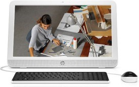 HP 20-E102IN (T0R67AA) (Intel Pentium, 2GB RAM, 500GB HDD, 19.53 Inch, Windows 10) All in One Desktop