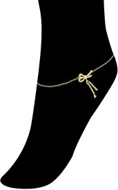 Exxotic Jewelz Lovely Style Brass Anklet