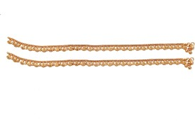 Jewbang South Indian Style_ Rakhi Gifts Alloy Anklet