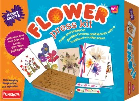 Funskool Flower Press Kit
