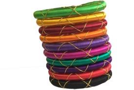 Kuhuk Plastic Bangle Set(Pack of 10)