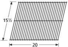 Music City Metals 53001 Steel Wire Cooking Grid