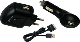 Nextech USB 30 3 in 1 Charger Set (With iPhone Cable)